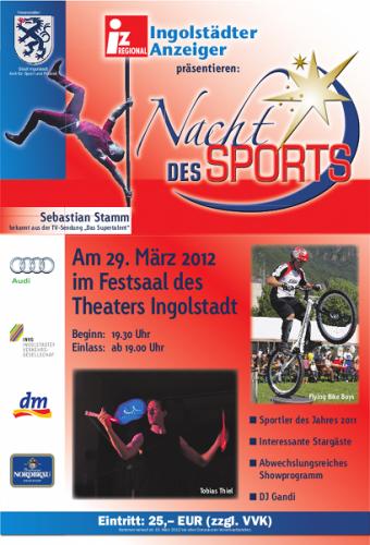 Nacht des Sports 2012, Ingolstadt